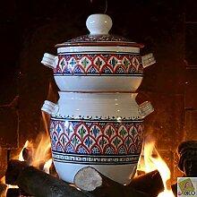 Couscous-Kochtopf, groß, Bakir, Ro