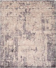 Cover Teppich in Lila von Knots Rugs
