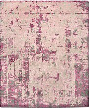 Cover Teppich in Rosa von Knots Rugs