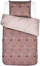 Covers & Co Papillon Bettwäsche Dusty Pink 1p set