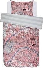 Covers & Co Wende-Bettwäsche PARIS CITYMAP 135 x