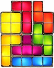 Cozy Vibe Tetris Lampe stapelbar led tischleuchte