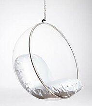 cozydots Acryl Indoor Glass Ball Chair, Raum
