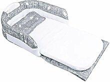 Cozyhoma Baby Stubenwagen für Bett, tragbare