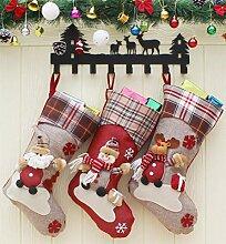 Cozywind 3er Set Weihnachtsstrumpf
