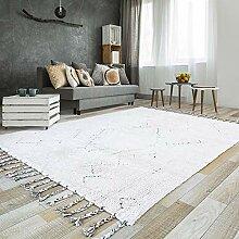 CPAZT Teppich, handgefertigt, Wohnzimmer, Familie,