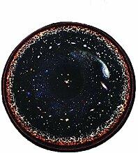 CPP Kosmischen Sternen Teppich Rutschfest Geeignet