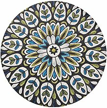 CPP Mandala Round Teppich Einfachen Stil Geeignet