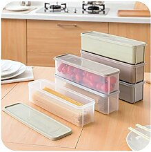 CPTTKI Kühlschrank Lebensmittel Aufbewahrungsbox