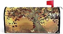 CPYang Fantasy Schmetterling Baum Ahorn magnetisch