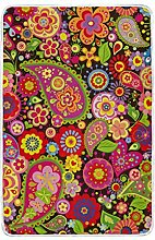 CPYang Tagesdecke mit Ethno-Muster, Paisleymuster,