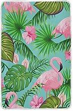 CPYang Tagesdecke mit Palmenblättern und Blumen,