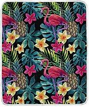 CPYang Tagesdecke mit tropischem Flamingo,
