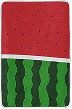 CPYang Tagesdecke mit Wassermelonen-Muster, weich,