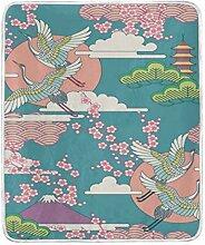 CPYang Überwurf-Decke mit japanischem
