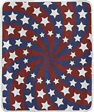 CPYang Überwurfdecke, amerikanische Flagge,