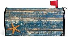 CPYang Vintage Holz Strand Seestern Magnet
