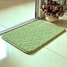 Cqq Badematte Teppich Eingangstürmatte Küche