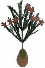 Craft Outlet Birnenbaum aus Pappmaché, 28 cm