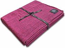 Craft Story Decke YARA I Uni Fuchsia/Purple aus