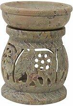 CRAFTSTRIBE handgemachte Specksteinölbrenner