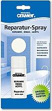 Cramer 17080 Sanitär-Reparatur-Spray für Keramik, Email und Acryl, weiß-alpin