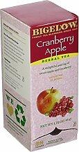 Cranberry Apple Herbal Tea, 28/Box by Bigelow Tea