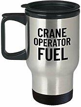 Crane Operator Geschenk Crane Travel Mug Crane