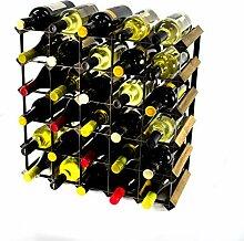 Cranville wine racks Classic 30Flasche Nussbaum
