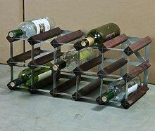 Cranville wine racks Klassische 15 Flasche Eiche