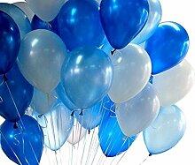 Cratone 20 Stück 25,4 cm runde Latex-Luftballons