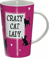 Crazy Cat Lady - Katzen - Mug - Becher – Latte