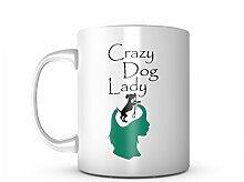 Crazy Dog Lady Komisch Dog Pet Lover Keramik Tasse