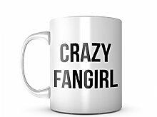 Crazy Fangirl Cool Hobby Komisch Keramik Tasse