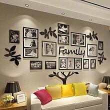 CrazyDeal Family Tree Bilderrahmen Collage 3D DIY