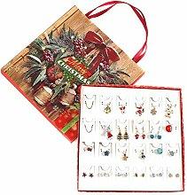 Crazyfly Adventskalender Schmuck, Weihnachten