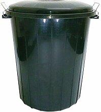 CrazyGadget Kunststoff-Mülltonne, groß, für