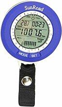 CRBsports Multifunktions-Barometer, LCD, Digital,