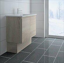 créabain Waschtisch Badezimmer-Grège-Grau