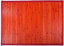 Creaciones meng–Bambusteppich rote
