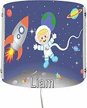 CreaDesign Kinderzimmer Wandlampe personalisiert