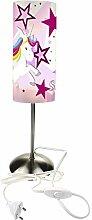 CreaDesign TI-1129-02 Einhorn Sterne rosa