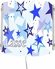 CreaDesign WA-1030-01, Sterne blau, Kinderzimmer