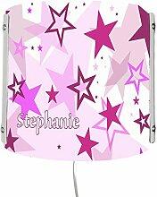 CreaDesign WA-1030-02, Sterne rosa, Kinderzimmer