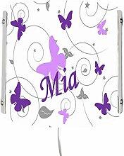 CreaDesign WA-1032-30, Schmetterling Flieder lila,