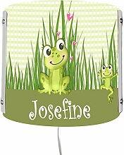 CreaDesign WA-1061, Frosch, Kinderzimmer Wandlampe