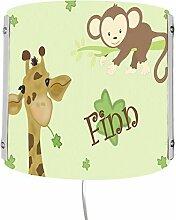 CreaDesign WA-1077, Giraffe-Affe, Kinderzimmer