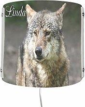 CreaDesign WA-1118, Wolf, Kinderzimmer Wandlampe