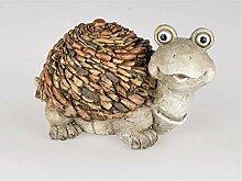 CREAFLOR HOME Garten Dekofigur Schildkröte Stones