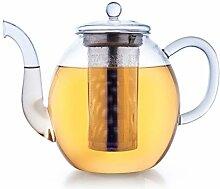 Creano Teekanne aus Glas 1,5l, 3-Teilige